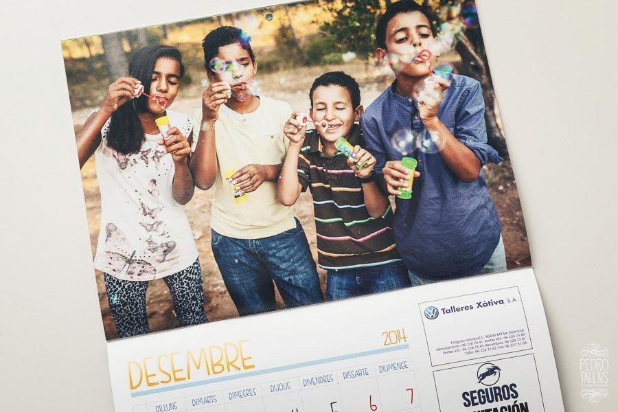 Proyecto fotográfico el calendario de amics del poble Saharauí