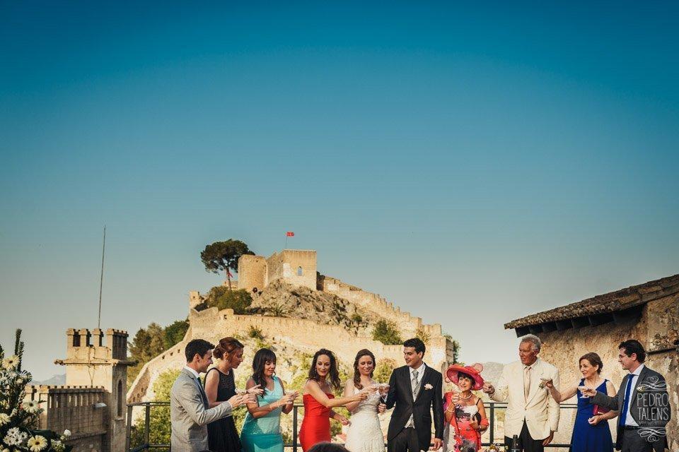 Boda en el Castillo de Xàtiva