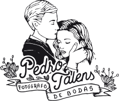 reportajes de boda en valencia pedro talens fotógrafo de bodas logo