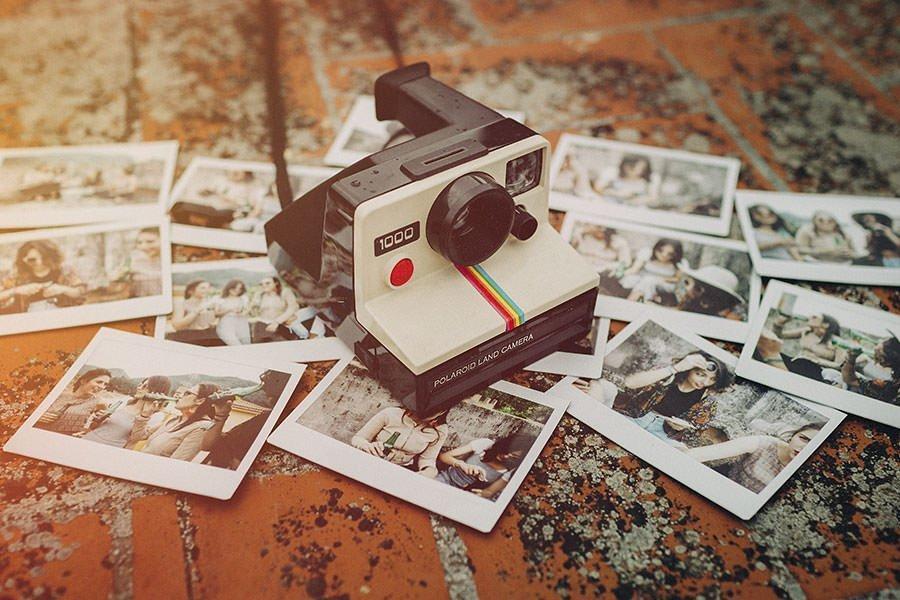 cámara de fotos instantanea y fotos fuji instax