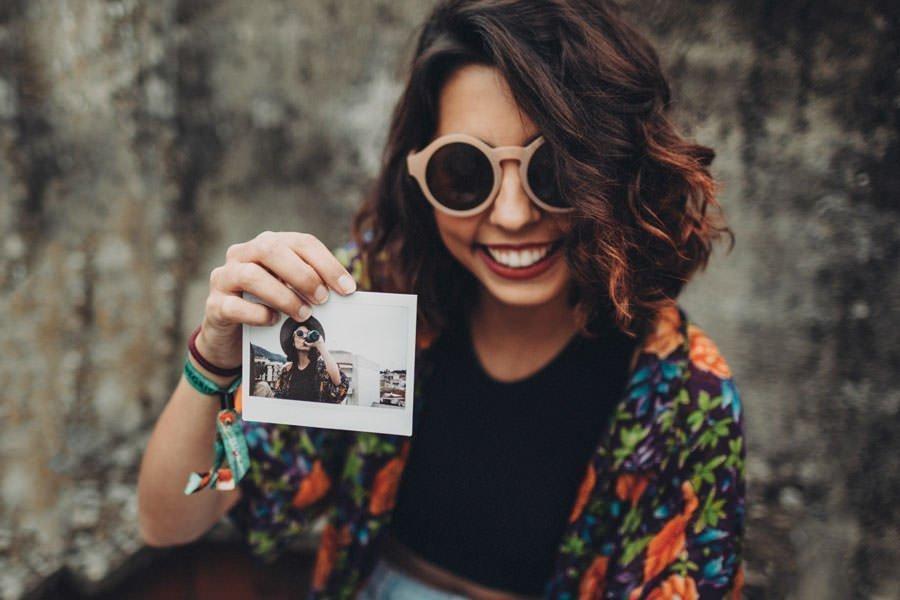 foto polaroid istantánea
