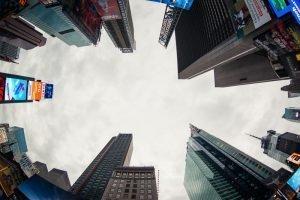 Curso de fotografía de viajes Pedro Talens - Times Square en ojo de pez
