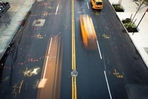 Curso de fotografía de viajes Pedro Talens - Taxi en larga exposición