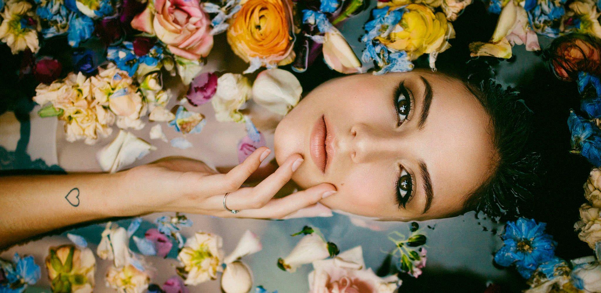 Fotos Boudoir - Bañera con flores - Pedro Talens