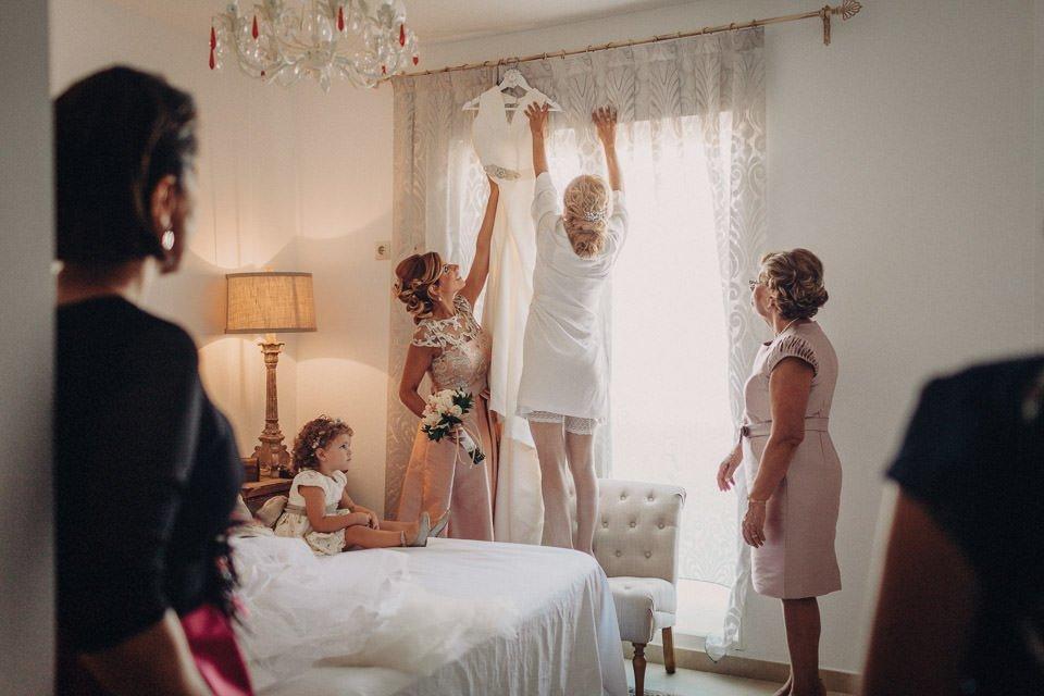 EL vestido de la novia - La guía definitiva para organizar una boda - Pedro Talens - Fotógrafo de bodas