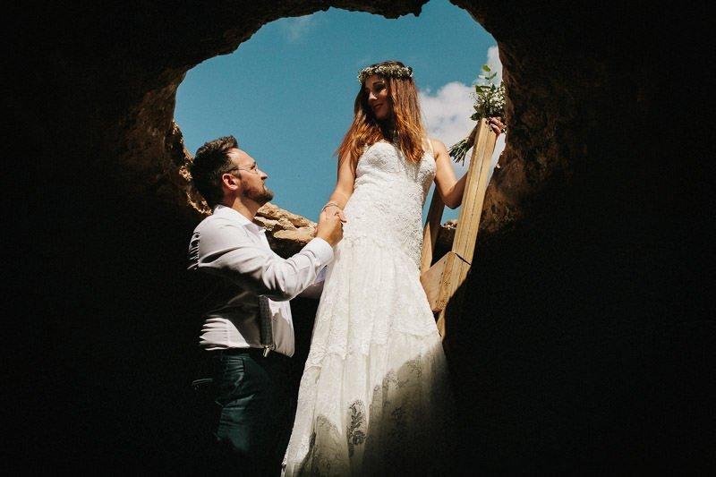 Pedro Talens Fotógrafo de bodas - Sesión de fotos postboda en Formentera.