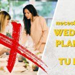 No necesitas una wedding planner para tu boda