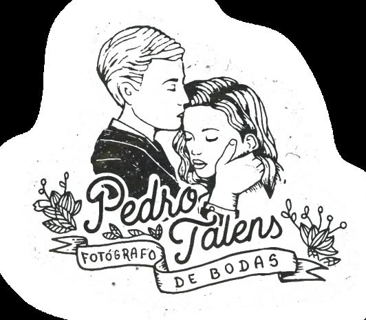 Reportajes de boda en Valencia - Pedro Talens fotógrafo de bodas - logo